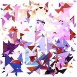 Geometrico astratto Faccia esplodere il fondo Illustrazione EPS10 di vettore Fotografia Stock Libera da Diritti