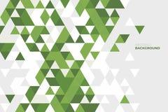 Geometrico astratto Fondo delle forme geometriche Reticolo di mosaico variopinto Retro priorità bassa del triangolo Fotografia Stock