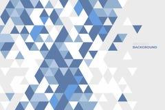 Geometrico astratto Fondo delle forme geometriche Reticolo di mosaico variopinto Retro priorità bassa del triangolo Immagine Stock Libera da Diritti