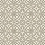 Geometrico astratto Reticolo floreale senza giunte Fotografia Stock
