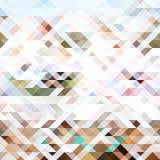 Geometrico astratto Triangoli e poligoni di colore del fondo royalty illustrazione gratis