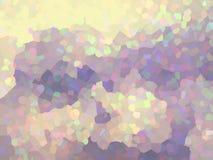 Geometrico, fondo del mosaico nei colori pastelli illustrazione vettoriale