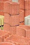 Geometrics postać betonowa forma Obrazy Royalty Free