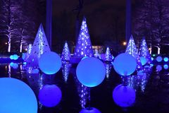 Geometrics Shapes - Garden Glow At The Missouri Botanical Garden