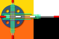 Geometridesign Arkivfoton