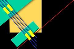 Geometridesign Arkivbild