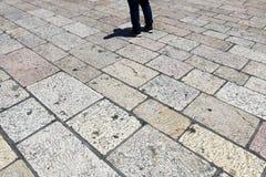 Geometrie auf den Straßen der Stadt Lizenzfreies Stockbild
