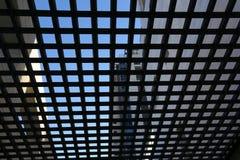 Geometrie auf den Straßen von einer Großstadt Stockbild