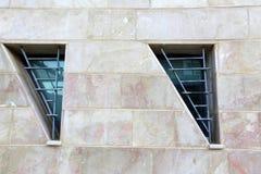 Geometrie auf den Straßen von einer Großstadt Stockbilder