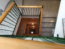 Geometrie der Treppe Lizenzfreie Stockfotografie