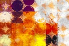 Geometriemalerei Lizenzfreies Stockbild