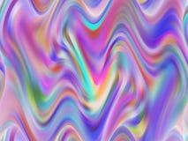 Geometrier för regnbåge för abstrakt purpurfärgad rosa färggräsplan fluid, skämtsam geometribakgrund, diagram, abstrakt bakgrund  stock illustrationer