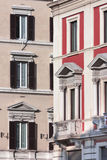 Geometries Roman. Roman palaces form a geometric pattern Royalty Free Stock Photo