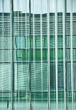 Geometries at the window. Window vertical blinds at the office window create an interesting game of colors and colors by drawing a royalty free stock photos