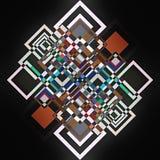 Geometriezusammenfassung Stockfotografie