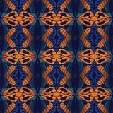Geometrii abstrakcjonistyczny deamless deseniowy tło Ilustracji