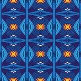 Geometrii abstrakcjonistyczny deamless deseniowy tło Royalty Ilustracja