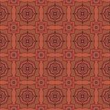 Geometrii abstrakcjonistyczny deamless deseniowy tło Ilustracja Wektor