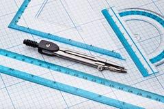 geometrii narzędzia Zdjęcia Royalty Free