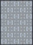 Geometrii tekstury powtórki nowożytny wzór Obraz Stock