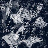 Geometrisch abstract gebruiksklaar ontwerp stock illustratie