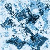 Geometrisch abstract gebruiksklaar ontwerp Royalty-vrije Stock Foto's