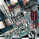Geometrisch abstract kleurenpatroon in graffitistijl kwaliteits vectorillustratie voor uw ontwerp vector illustratie