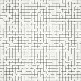 Geometrisch abstract naadloos afzonderlijk patroon Verpakkend document Stock Afbeelding