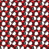 Geometrisch abstract naadloos patroon Lineaire motiefachtergrond Stock Fotografie