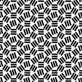 Geometrisch abstract naadloos patroon Lineaire motiefachtergrond Royalty-vrije Stock Afbeeldingen