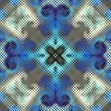Geometrisch abstract patroon Stock Afbeelding