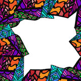 Geometrisch abstract patroon Royalty-vrije Stock Foto's