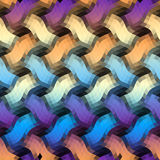Geometrisch abstract patroon Royalty-vrije Stock Foto's