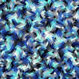 Geometrisch abstract patroon Stock Afbeelding