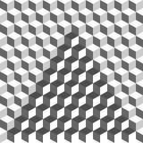 Geometrisch abstract patroon Manier grafische achtergrond Vector illustratie Stock Afbeeldingen