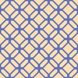 Geometrisch abstract patroon Vector naadloze textuur Stock Afbeeldingen