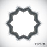 Geometrisch Arabisch patroon Royalty-vrije Stock Foto's