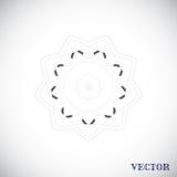 Geometrisch Arabisch patroon Royalty-vrije Stock Afbeelding