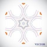 Geometrisch Arabisch patroon Stock Afbeelding