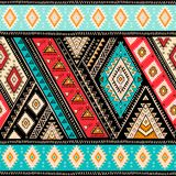 Geometrisch Azteeks patroon De stammentatoegeringsstijl kan voor textiel, yogamatten, telefoongevallen, deken worden gebruikt stock illustratie