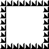 Geometrisch beeld, fotokader in squarishformaat royalty-vrije illustratie