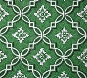 Geometrisch BloemenBehang Royalty-vrije Stock Foto's