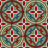 Geometrisch Chinees naadloos patroon Royalty-vrije Stock Fotografie