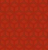 Geometrisch Chinees naadloos patroon Royalty-vrije Stock Afbeeldingen