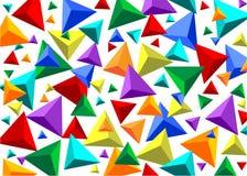 Geometrisch cijfer Royalty-vrije Stock Afbeelding