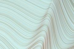 Geometrisch Conceptueel lijn als achtergrond, kromme & golfpatroon voor ontwerp Grafisch, kleur, herhaal & details stock illustratie