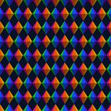 Geometrisch de Driehoeken en de Diamanten Naadloos Patroon van Festajunina stock illustratie