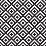 Geometrisch Diagonaal Vierkantenpatroon Stock Fotografie
