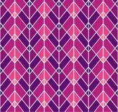 Geometrisch Diamond Vector Seamless Pattern Abstract Art Deco Background Klassieke modieuze textuur vector illustratie
