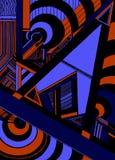 Geometrisch-Dynamic2 Royalty-vrije Stock Afbeelding